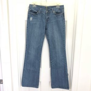 4/$25 7 For All Mankind Crystals Bootcut Jeans